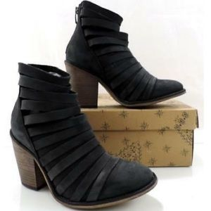 Free People Booties - Hybrid With Strapping